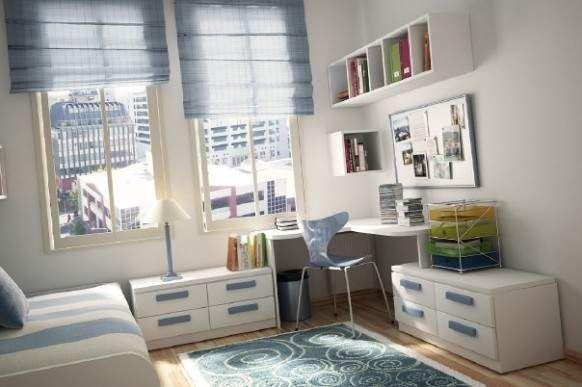 Подреждане на мебели по стените в малка детска стая