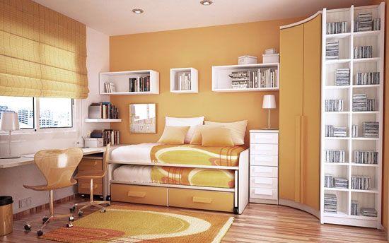 Разтегателно легло в малка детска стая