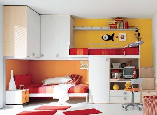 Интериор на малка детска стая