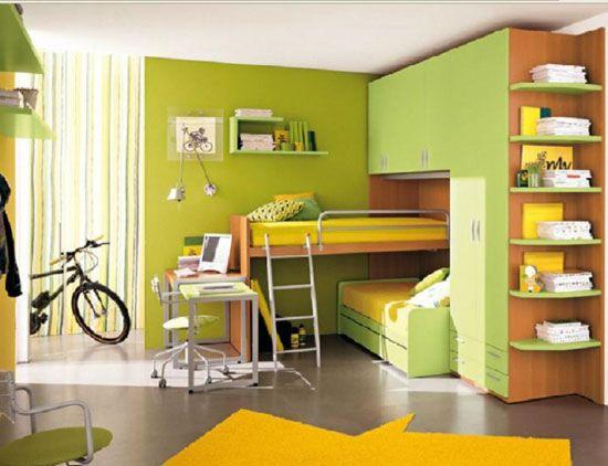 Многофункционални мебели в детската стая
