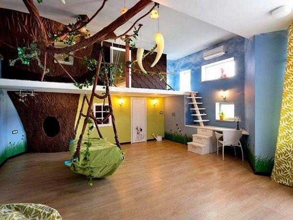 Стаята на джунглата