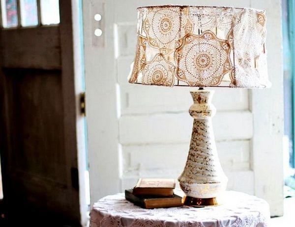 Настолна лампа със собствени ръце