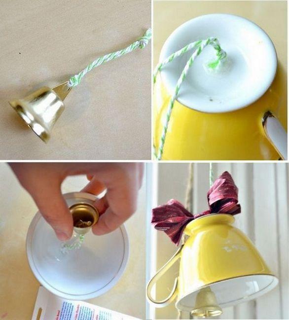 Направете нова камбана от чаша