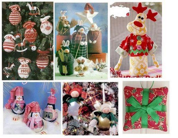 Новогодишните играчки, произведени със собствени ръце