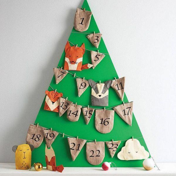 Коледният календар със собствените си ръце