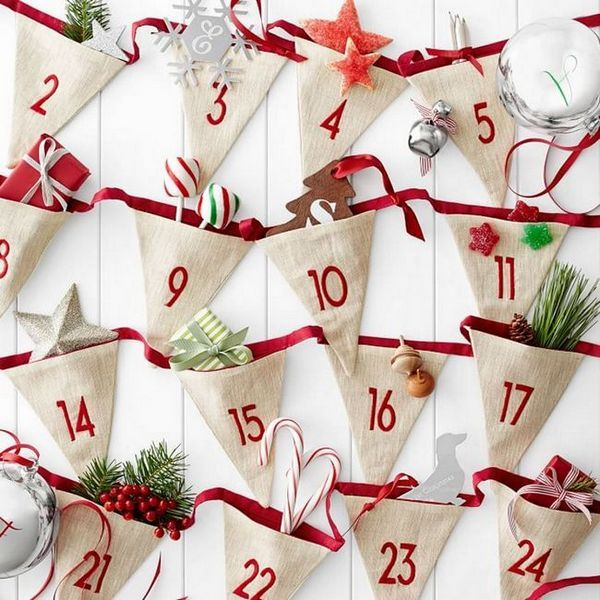 Коледният календар с подаръци