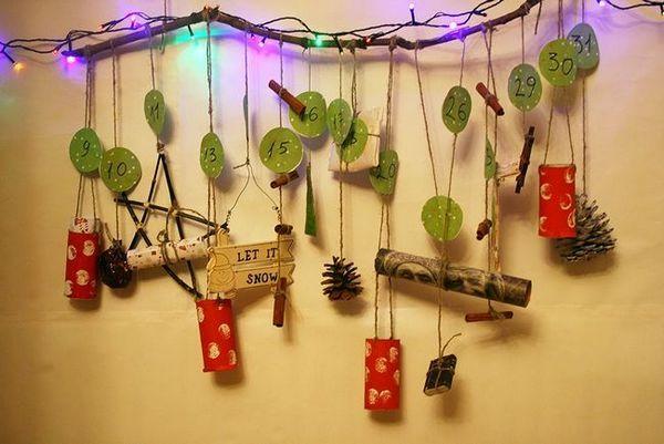 Коледният календар на клоните