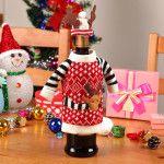 Снимка 8: Декорация на бутилка за Коледа
