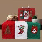 Снимка 29: Новогодишните кърпи като подарък
