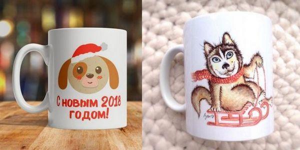 Чаши с образа на кучетата