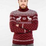 Снимка 36: Новогодишен пуловер