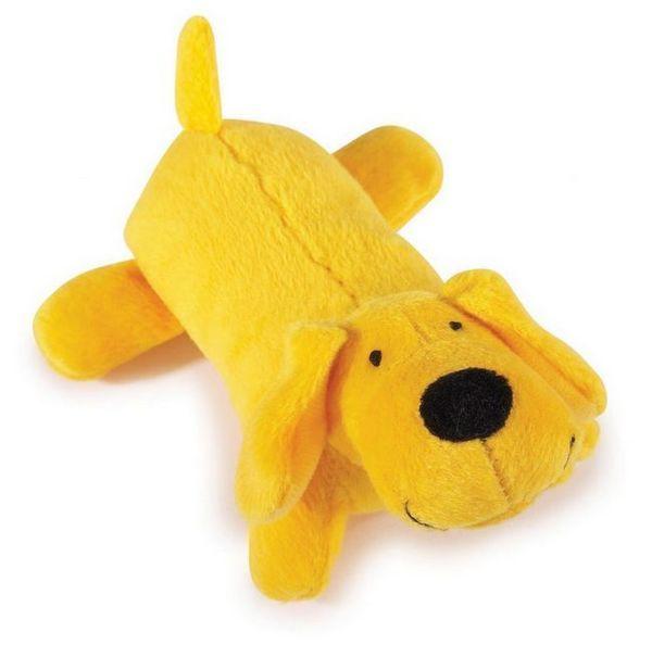 Жълто плюшено куче