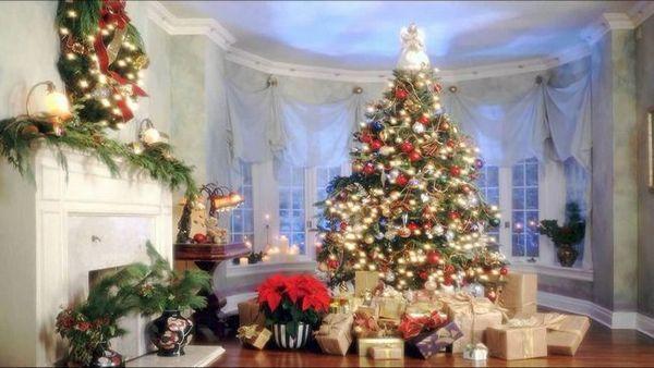 Коледно дърво в къщата