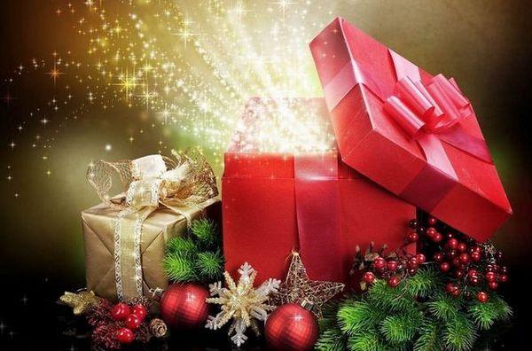 Красива украса на новогодишните подаръци
