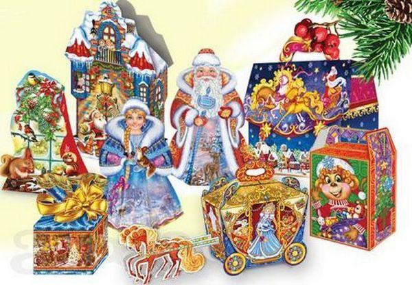 Разнообразие от пакети за Нова година