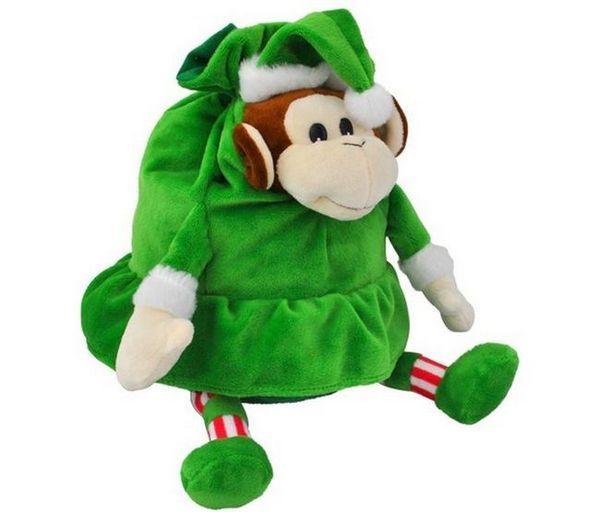 Новогодишна опаковка за подарък под формата на маймуна