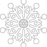 Снимка 60: Шаблон на Снежинка 3