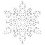 Снимка 64: Шаблон за снежинки 7