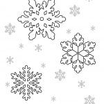 Снимка 65: Шаблони от снежинки