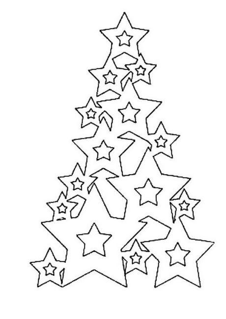 Коледното дърво израства от звездите