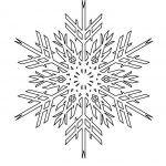 Снимка 58: Шаблон за снежинки 1
