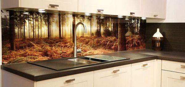 Фото тапети за престилка в кухнята