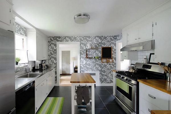 Винилни тапети в кухнята
