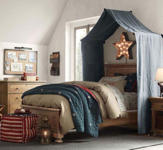 Детска стая за снимка на момче