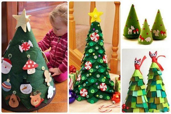 Коледно дърво елха за деца