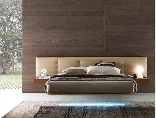 Окачено легло във вътрешността