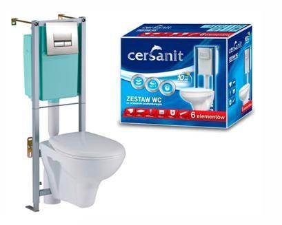 Окачена тоалетна от полската фирма