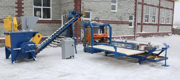 Производство на оборудване за вибропресоване и бетонови възли