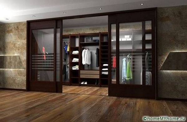 Плъзгащи врати за гардероб предимства, сортове и монтаж
