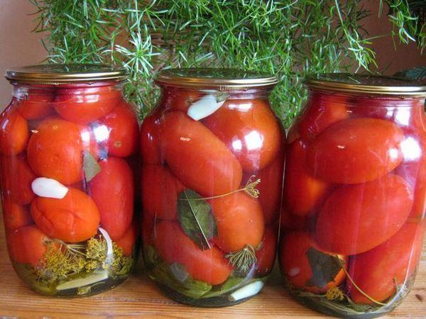 Рецепти от маринован домат за зимата