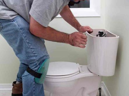 Отстраняване на тоалетна чиния