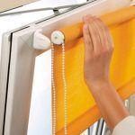 Снимка 24: Закрепване на ролетните щори към рамката на прозореца