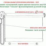Снимка 25: Механизъм за монтиране на завеса на ролки