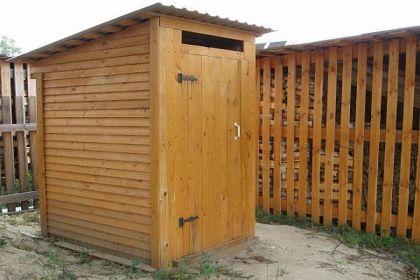 Септична яма за тоалетната в страната