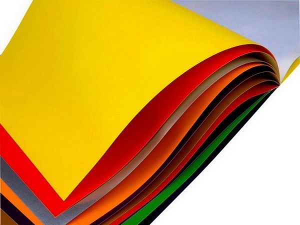 Цветна хартия за есенни колчета
