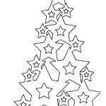 Снимка 28: Моделът на коледното дърво от звездите