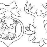 Снимка 44: Шаблони за елени