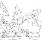 Снимка 61: Снегомобил със снежен човек