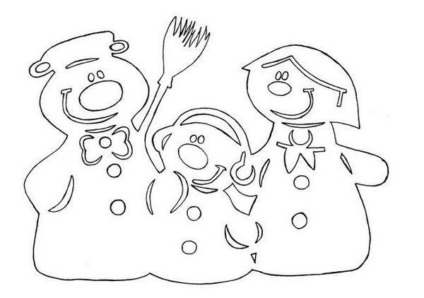 Стилист на снежната шапка