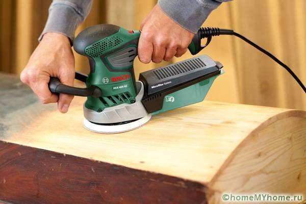 Шлифовъчна машина за дървообработка на домашен занаятчия