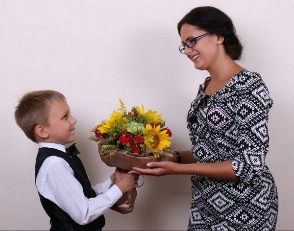 Учителка на цветя
