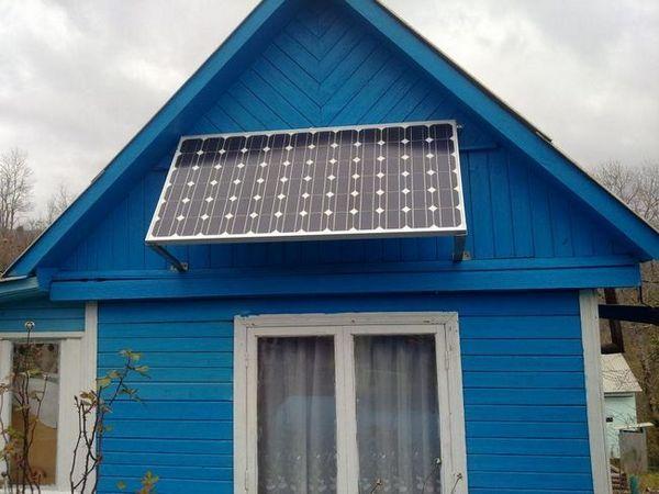 Слънчева батерия във вилата