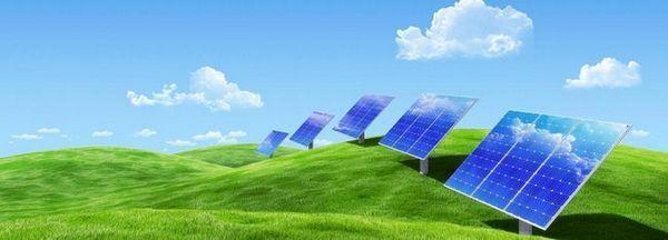 Снимка на слънчеви панели