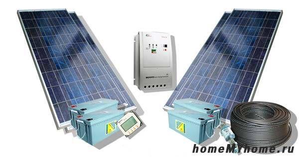 Комплект слънчеви батерии