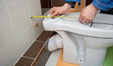 Инсталиране на тоалетната чиния