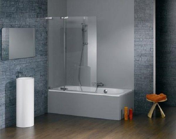 Стъклени завеси за основни типове и характеристики на банята